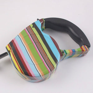 Colorful Retractable Dog Leash