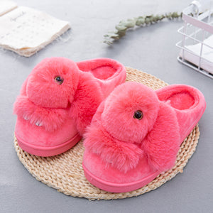 Cute Bunny Winter Slippers