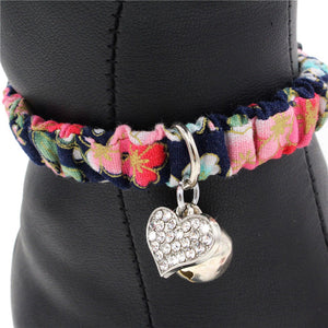 Adjustable Cat Collar With Bell And Wind