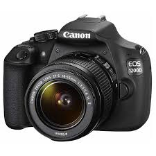Canon EOS 100D 18MP DSLR Camera with 18-55mm Lens - Black