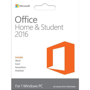 Microsoft Office 2016 Home & Student – WINDOWS – 1 PC