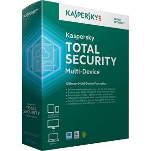 Kaspersky Total Protection  2017- 3 User 1 Year/ Download