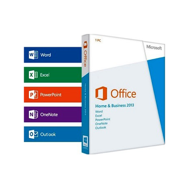 MICROSOFT OFFICE 2013 HOME & BUSINESS WINDOWS 1 PC