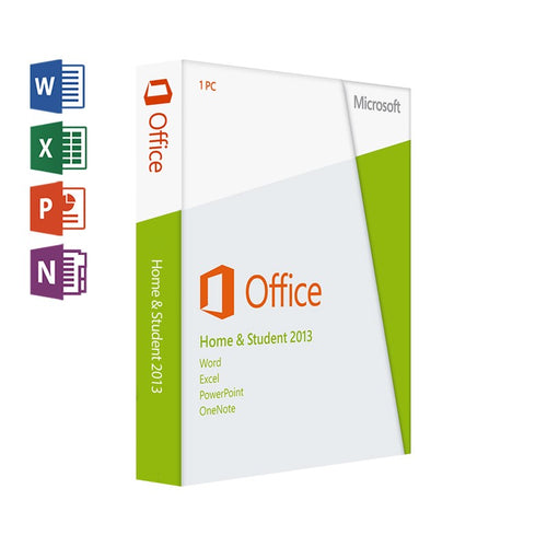 MICROSOFT OFFICE 2013 HOME & STUDENT FOR WINDOWS - 1 USER