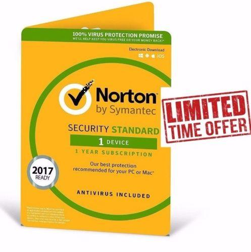 Norton Internet Security Standard 2020 1 User 1Year License Code