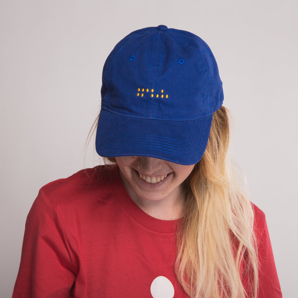 Braille Dad Hat