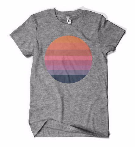 Awake Sun Shirt Grey Triblend