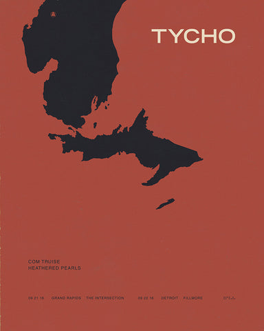 Michigan - Limited Edition Poster (Lithograph)