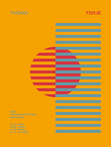 Tycho Terje Tour Poster