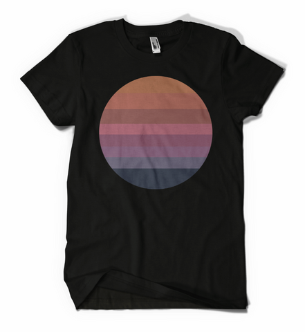 Awake Sun Shirt Black