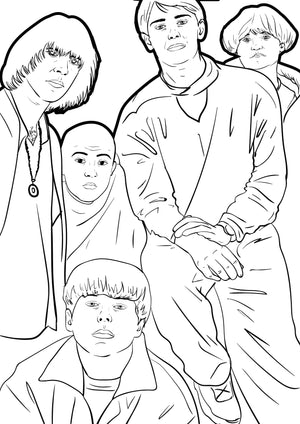 Manchester Music Volume 2 Colouring Book
