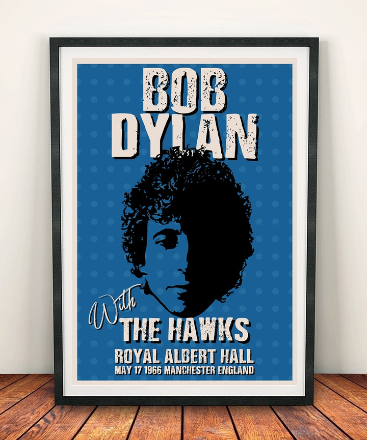 Bob Dylan 'Royal Albert Hall 1966' Print