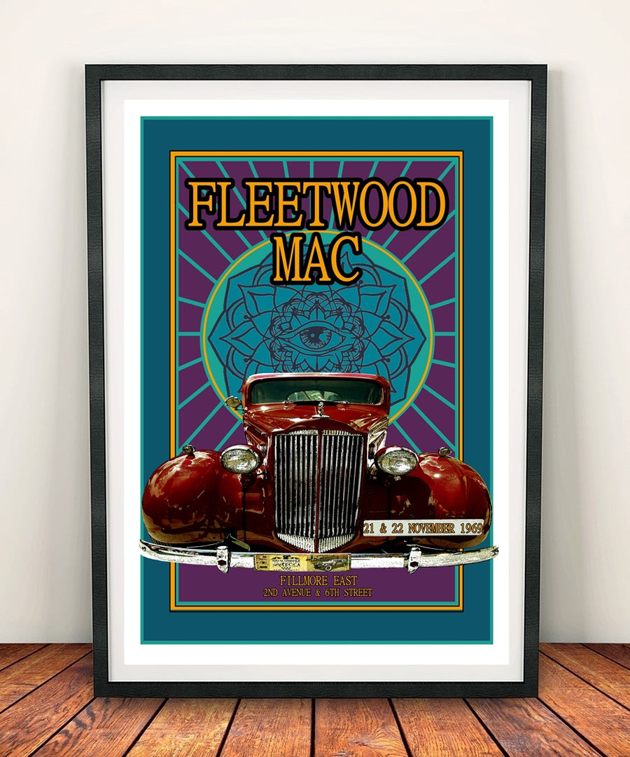 Fleetwood Mac 'Fillmore East 1969' Print