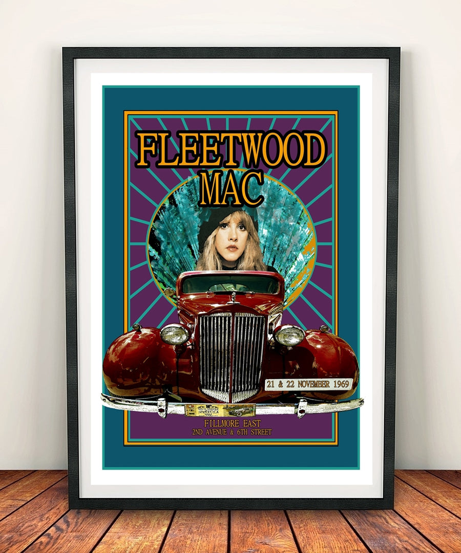 Fleetwood Mac 'Stevie Nicks' Print