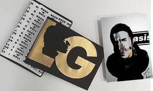 Liam Gallagher 'Delux Gold Edition' Gift Box Sweater & Signed Print Set LIMITED TO 50