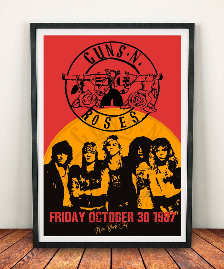 Guns N Roses 'New York City' Print