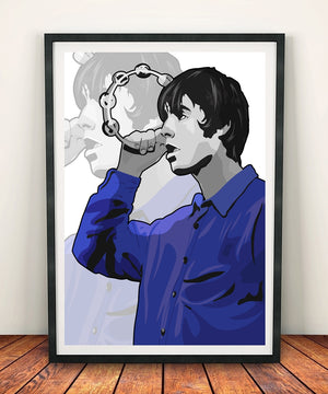 Liam Gallagher 'Tambourine' Print