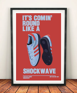 Liam Gallagher ' Shockwave' Print
