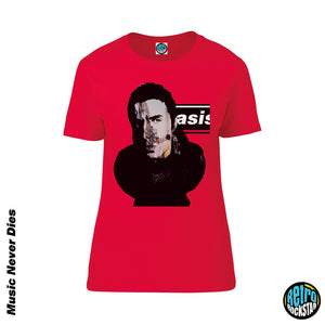 Liam Gallagher 'Oasis Whats The Story Morning Glory' Ladies Fit Tshirt