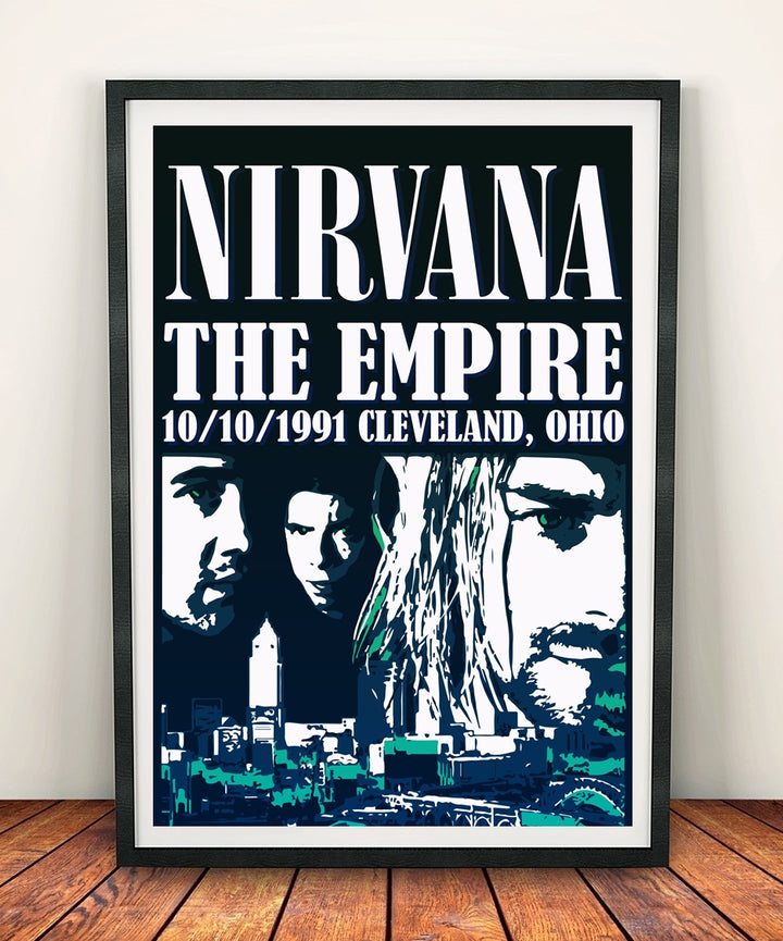 Nirvana 'The Empire' Print