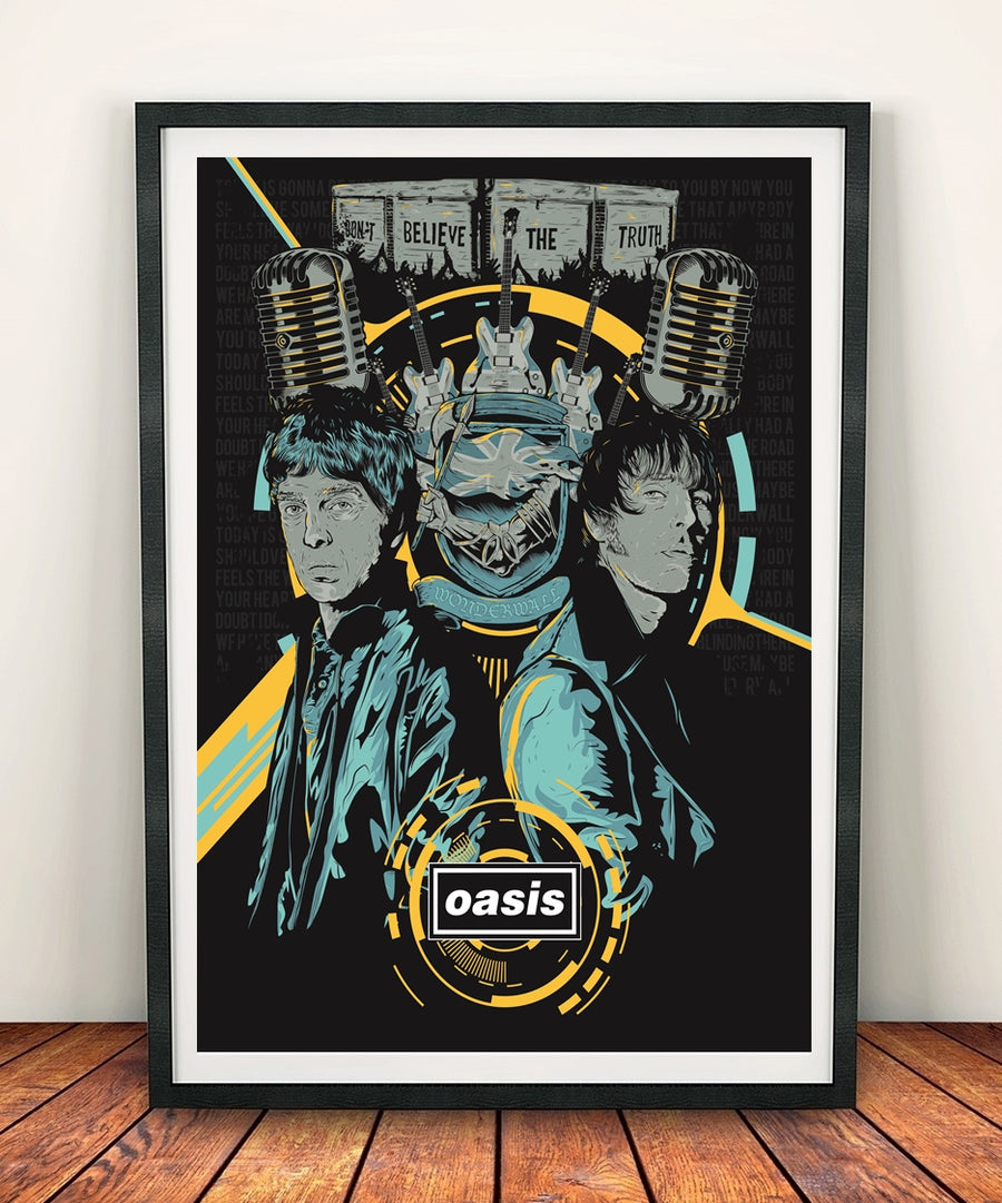 Oasis 'We Need Eachother' Print