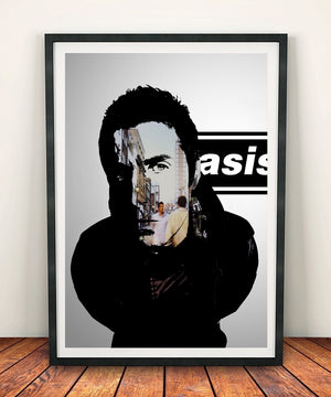 Liam Gallagher 'Morning Glory' Print