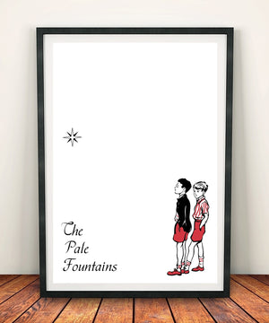 The Pale Fountains 'Something On My Mind' Print