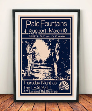 The Pale Fountains 'At The Leadmill' Print