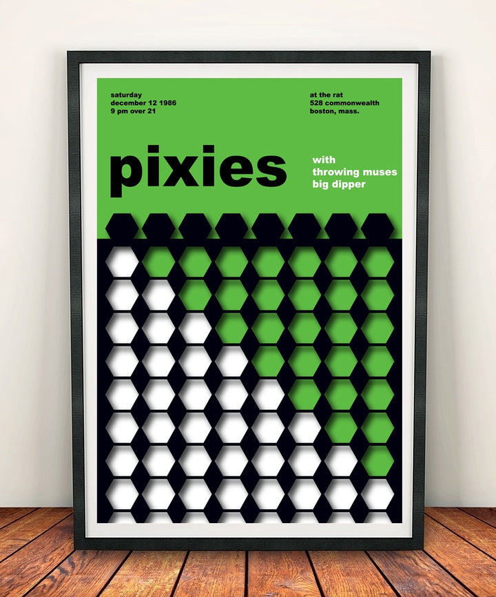 Pixies 'At The Rat 1986' Print