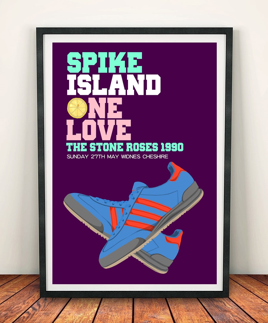 The  Roses 'Spike Island One Love' Print