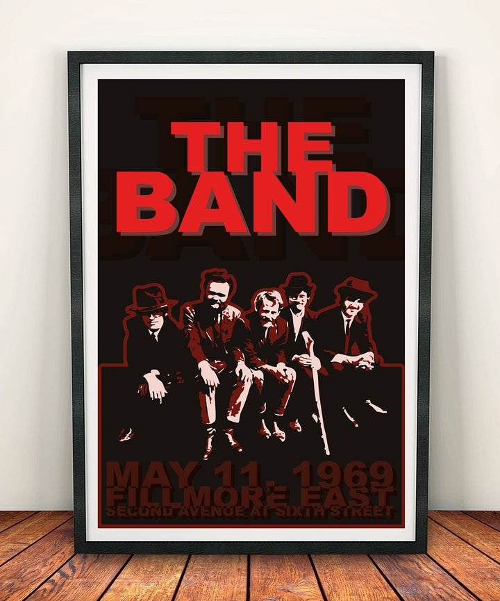 The Band 'Fillmore East 1969' Print