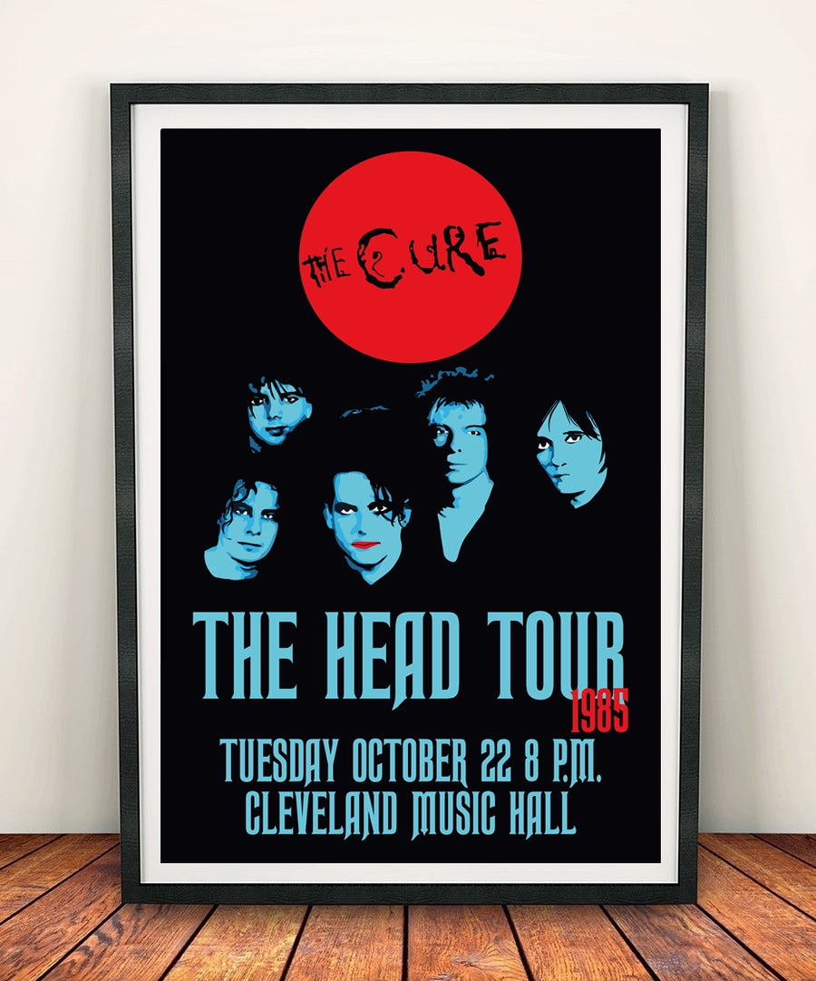 The Cure 'The Head Tour' Print