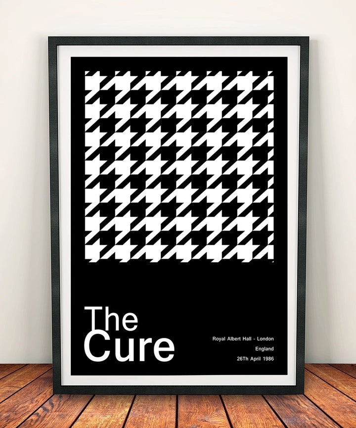 The Cure 'At Royal Albert Hall 1986' Print