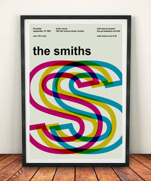 The Smiths 'At The Venue 1983' Print