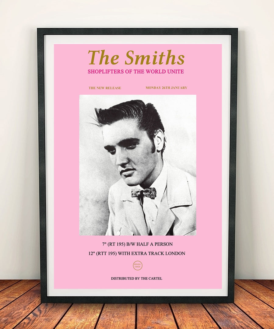 The Smiths 'Shoplifters Of The World Unite' Print