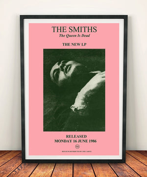 The Smiths 'The Queen Is Dead' Print