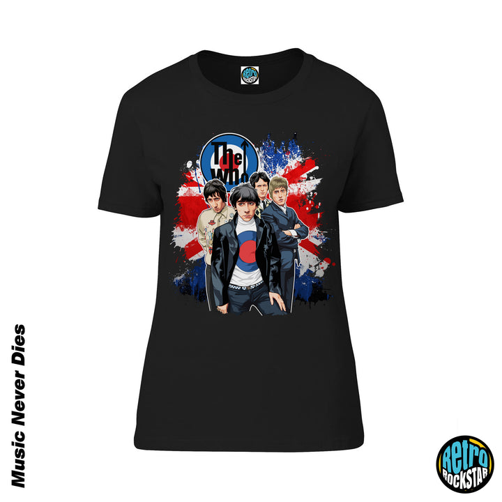 The Who 'My Generation' Ladies Fit Tshirt