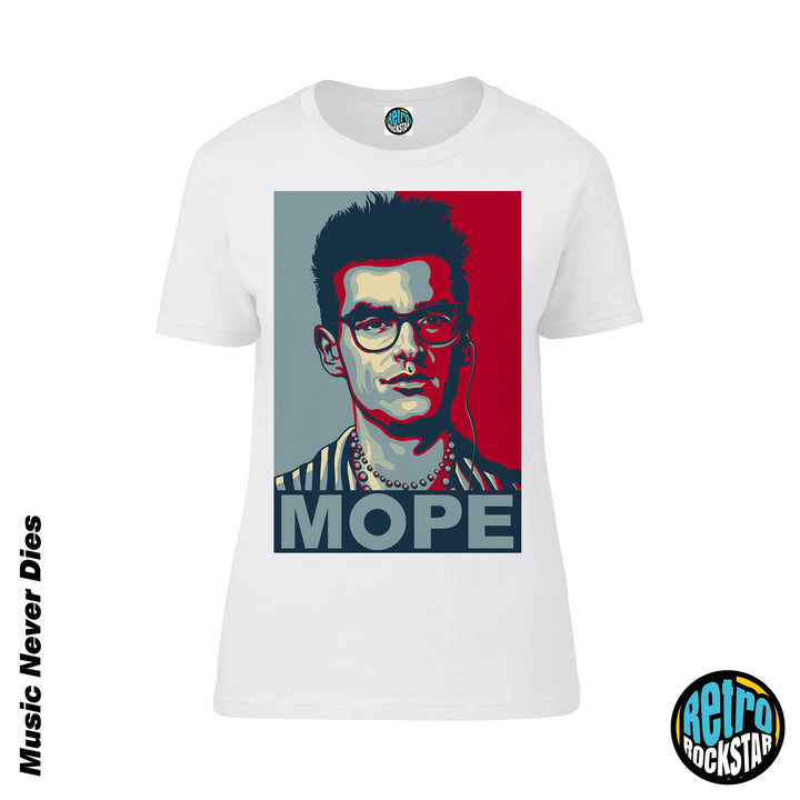 Morrissey 'Mope' Ladies Fit Tshirt