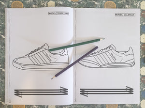 Teenage Kicks 3 Stripe Colouring Book