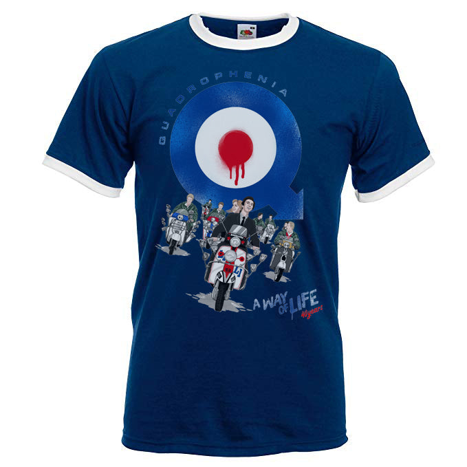 Quadrophenia 'A Way Of Life' Ladies Fit Tshirt