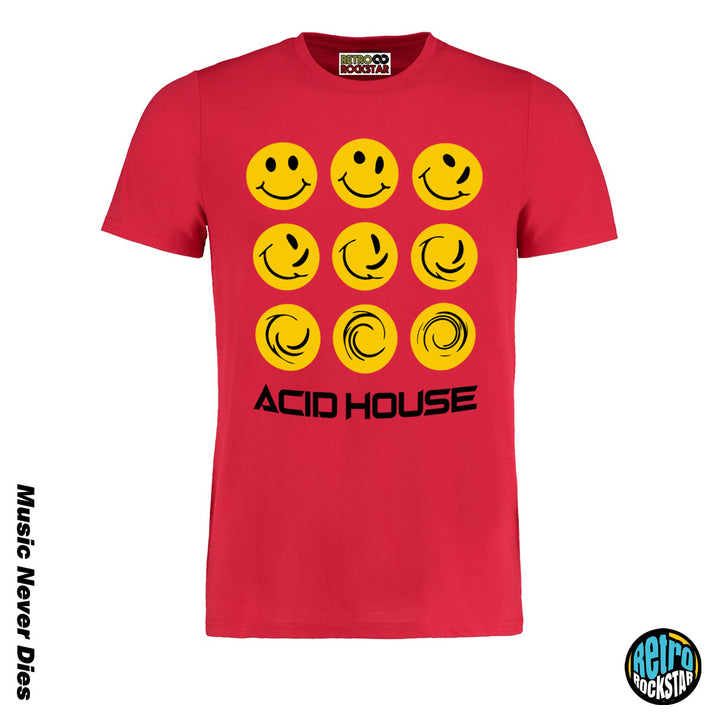 Acid House Smiley Classic Tshirt