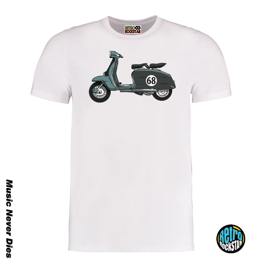 Retro Scooter Tshirt