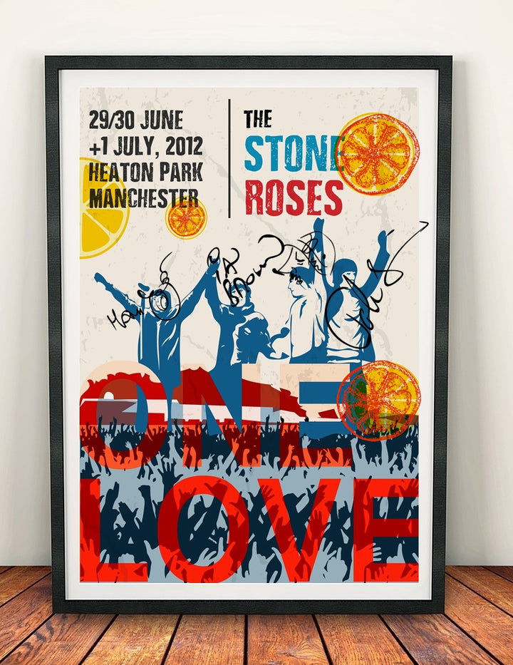 The Roses 'Heaton Park' Signed Print