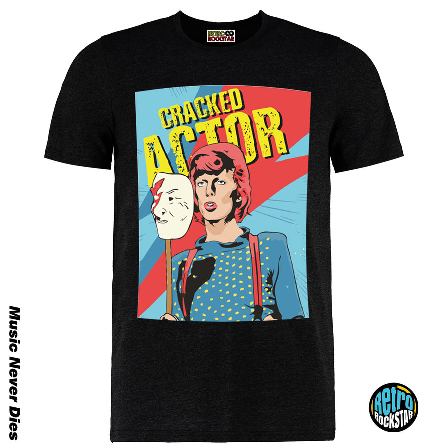 David Bowie Cracked Actor Tshirt