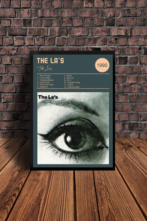 The La's There She Goes Print