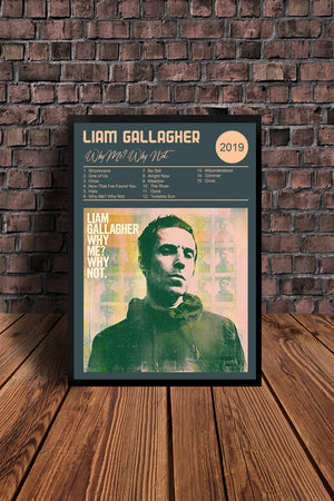 Liam Gallagher As You Were & Why Me Why Not  Print Set