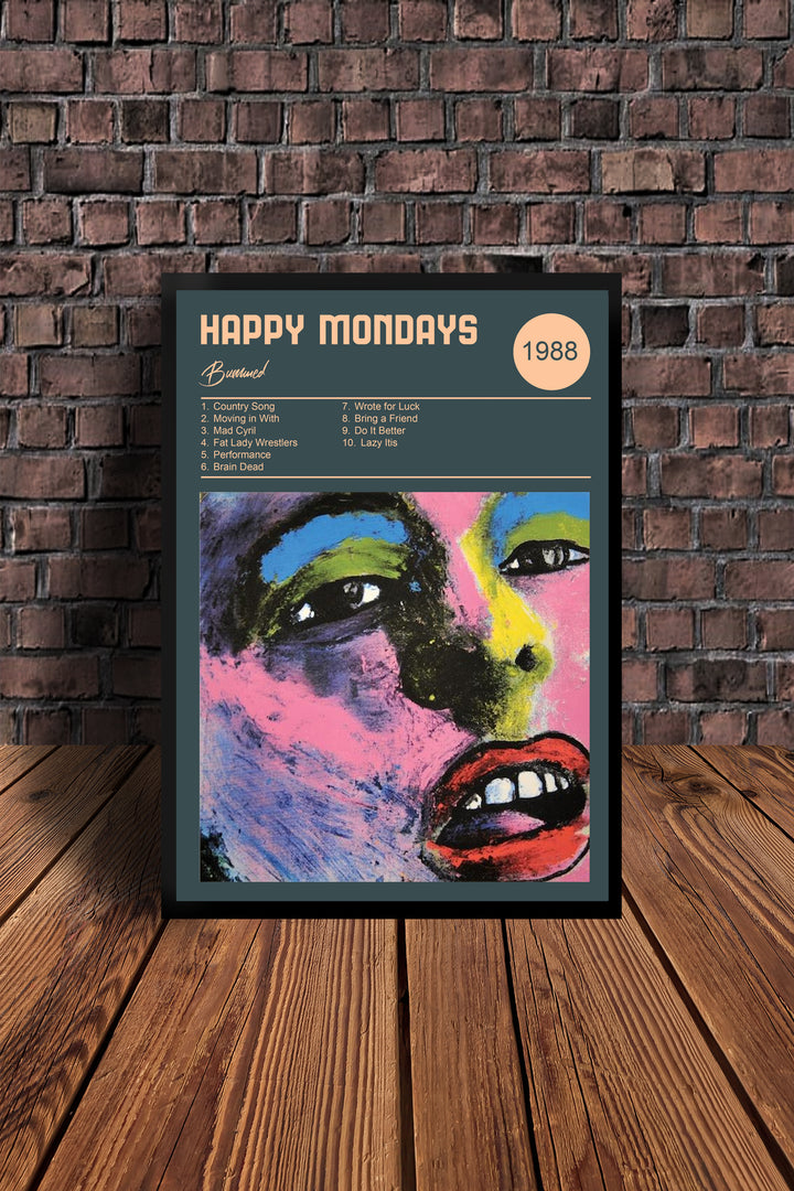The Happy Mondays Bummed Print