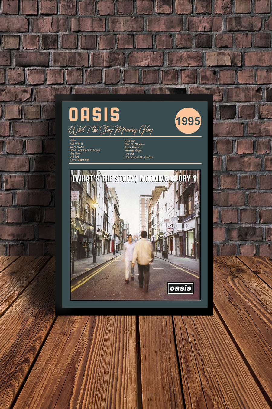 Oasis 'Whats the story morning glory' Tribute Print