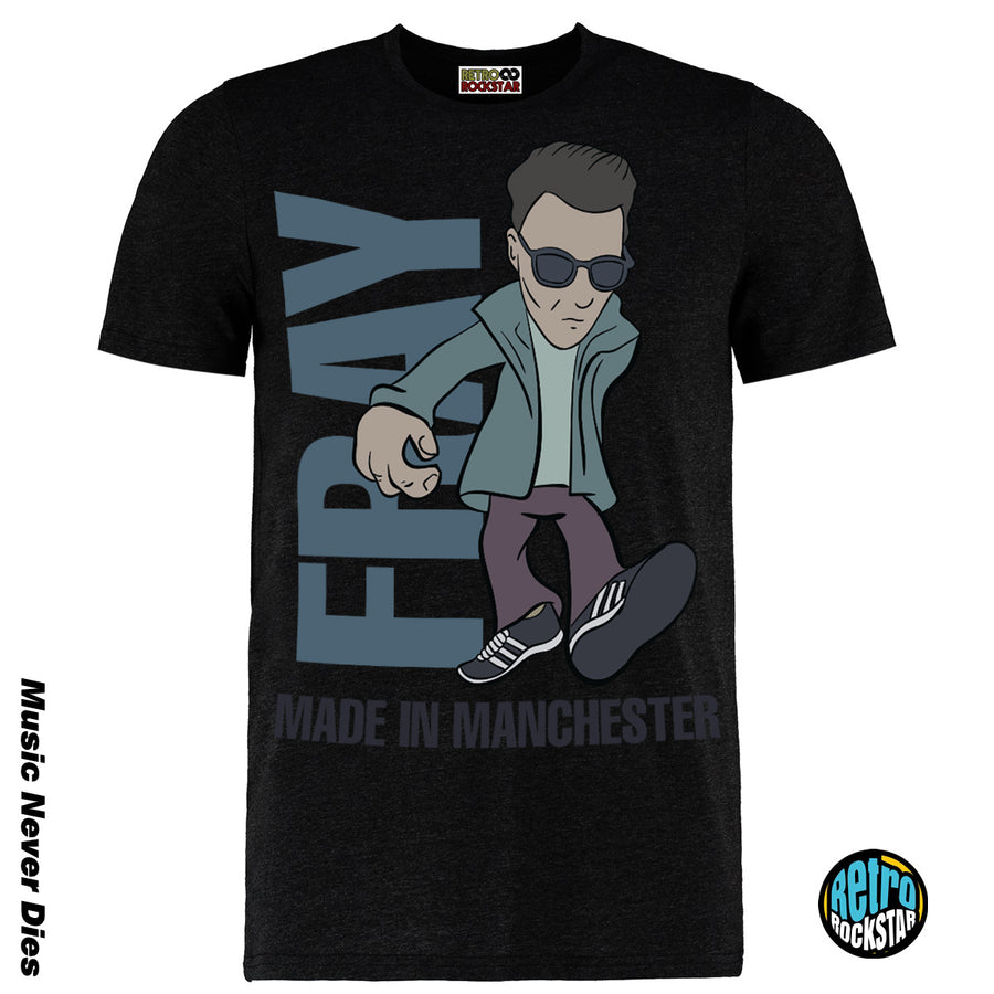 Liam Fray Courteenrs  TShirt  Legends Of Manchester