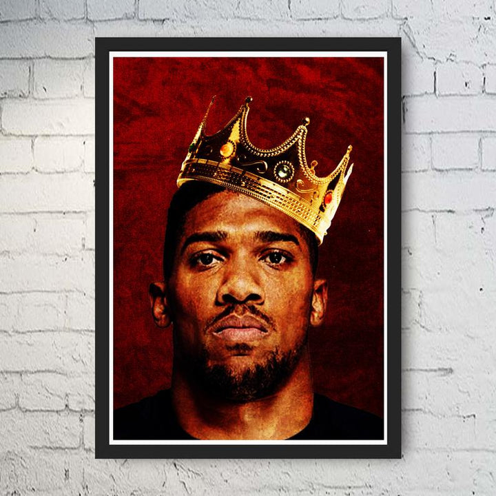 Anthony Joshua Legends  Print